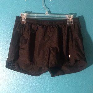 Black Mesh running shorts from Old Navy